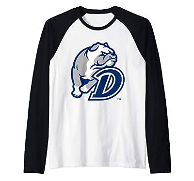 Drake University Bulldogs NCAA PPDRU02 Raglan Baseball Tee
