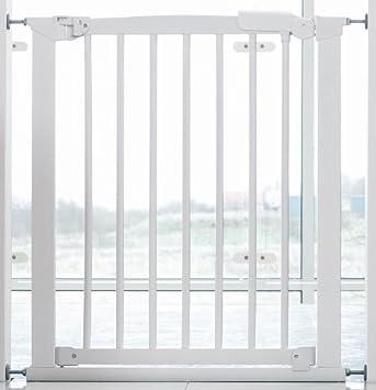 Babydan Avantgarde White Wooden Stair Gate 71cm 91cm Amazon Co Uk