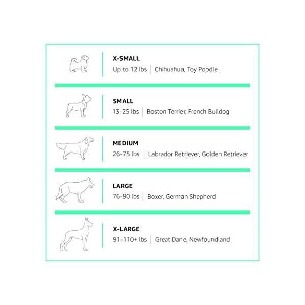 Amazon Basics – Faltbares Metall-Gehege mit Tor, für Haustier, Hund, Trainingszaun, 152,4 x 152,4 x 60,9 cm & Puppy Pads…