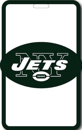 Aminco International NFL-LS-030-11 Soft Bag Tag - New York - Football Bag Tags