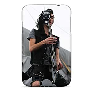 Shock-Absorbing Cell-phone Hard Covers For Samsung Galaxy S4 (SCt1238eTnF) Customized HD Asking Alexandria Band Image