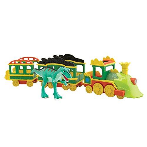 Tomy Dino Train - LC53010MP - Véhicule Miniature - Circuit avec sons et Lumières
