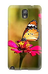 New Style KarenStewart Hard Case Cover For Galaxy Note 3- Butterfly wangjiang maoyi
