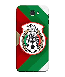 ColorKing Football Mexico 11 Multi Color shell case cover for Samsung J7 Prime