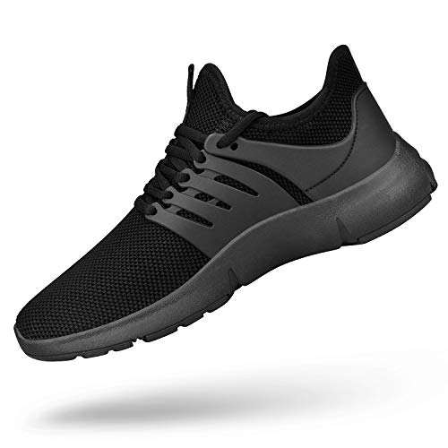 Product image of SouthBrothers Mens Athletic Shoes Lightweight Running Walking Shoes Casual Sports Sneakers Black Size 10