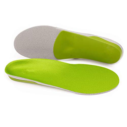 Green Insoles Compatible with Superfeet, Professional-Grade High Arch Orthotic Insert for Maximum Support, Unisex, Green (C:6.5-8 M US Womens/5.5-7.5 M US Men)