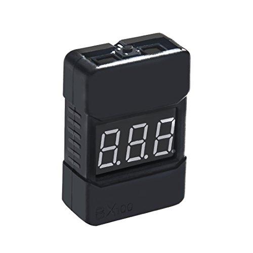 AKK Low Voltage Buzzer Alarm 1-8S Lipo Battery Voltage Tester (BX100)