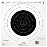 Champion Traps & Targets NRA Paper GTQ-4(P) 100-Yard Single Bulls-Eye to Train or Qualify Target (Pack of 12)