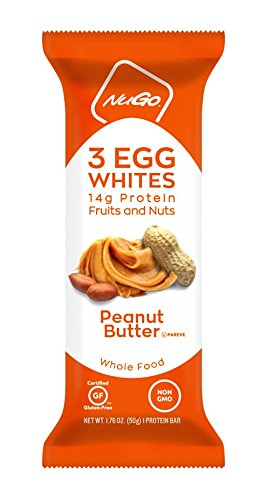 NuGo Egg White Protein Peanut Butter, 1.76 Ounce