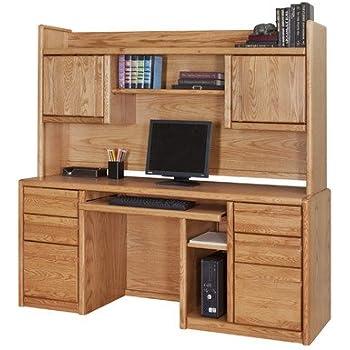 Martin Furniture Contemporary Bookshelf Hutch Fully Assembled