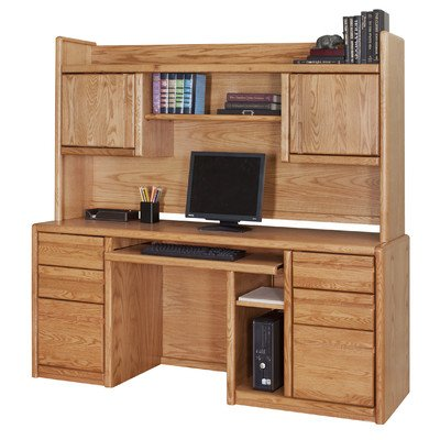 Kathy Ireland Home By Martin Contemporary Bookshelf Hutch, Fully Assembled