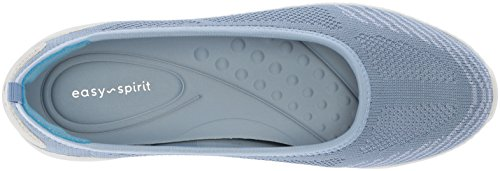 Easy Spirit Womens Geinee Ballet Flat Blue