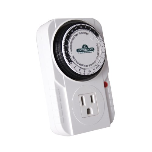 (Autopilot TM01015 Analog Grounded Timer, 1725W, 15A, 15 Minute On/Off, 24 Hour15 Grounded Timer, 15 Amp, 1725 Watt)