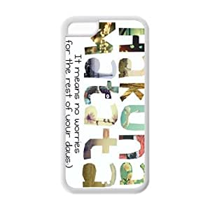 Best Design Lion King Hakuna Matata Durable TPU Cover Cool Case For Iphone 5c ACO1763
