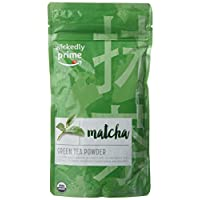 Wickedly Prime Organic Matcha Green Tea Powder, Culinary Grade, Product of Japan, 4 Ounce