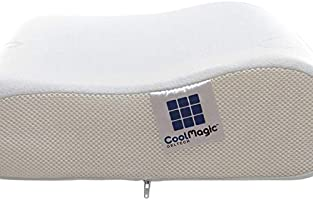 Air Visco White Cool Magic Geltech Contour Pillow Buy Online At Best Price In Uae Amazon Ae