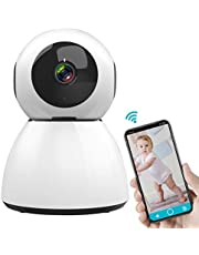 Wireless IP Camera, SAWAKE 1080P HD WiFi Cam Night Vision Home Security Camera CCTV Baby Pet Monitor Security Surveillance 200W Support Cloud Storage, Two-Way Audio Motion Detection UK