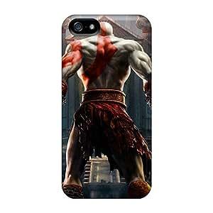 Excellent Design God Of War Phone Case For Iphone 5/5s Premium Tpu Case