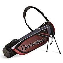 TaylorMade Golf 2016 TM Quiver ST Carry Stand Bag - Black/Red by Quiver Carry Bag