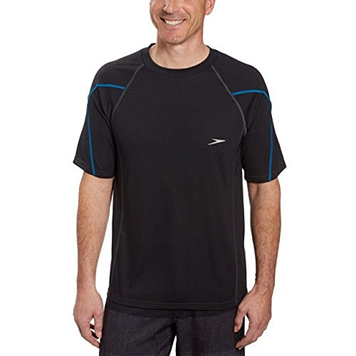 Speedo Men's UPF 50 Short Sleeve Rashguard Swim Tee