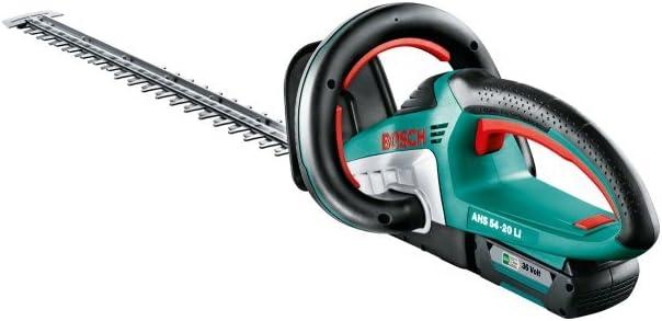Bosch Home and Garden 060084A100 Bosch Cortasetos de batería AHS 54-20 LI, 36 W, 36 V, Negro, Verde