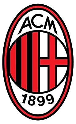 A.C. Milan FC Italy Soccer Football - Sticker Graphic - Auto Wall Laptop Cell Truck Sticker - Easy Stick Sticker Graphic