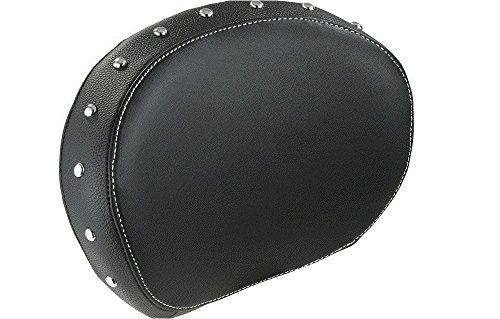 Indian Motorcycle Genuine Black Studded Leather Passenger Backrest (Studded Passenger Pad)