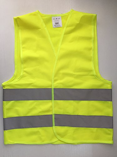 Et Bike Costume (Kids High Visibility Reflective Safety Vest for Costume Running Cycling Size M)