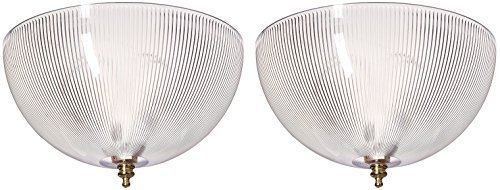 Westinghouse 81493 (FMR Angelo Bros) Clip-On Shade, 8'' x 4'' - 2 Pack by Westinghouse