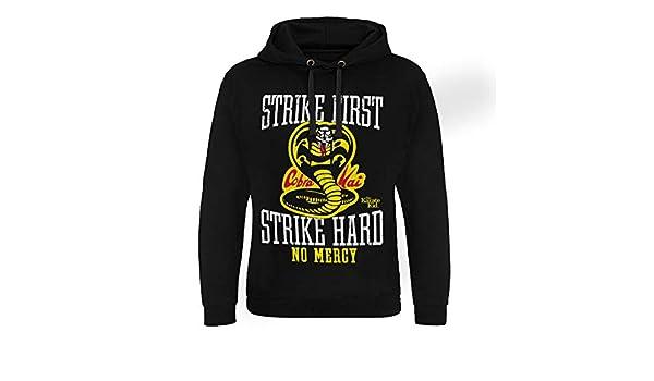 Cobra Kai No Mercy Epic Hoodie S-XXL Sizes Officially Licensed Karate Kid
