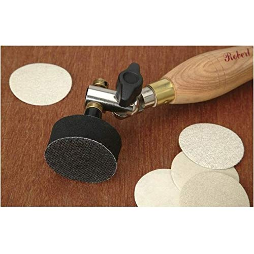 Robert Sorby H9086 Sandmaster Bowl Sanding Tool with 2'' Diameter Pad 10 1/2 '' Overall Length 410 by Robert Sorby