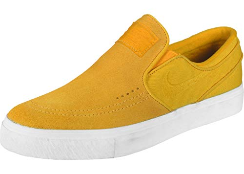 MultiCouleure (jaune Ochre  blanc 700) 45 EU Nike Zoom Stefan Janoski Slip, Chaussures de Fitness Homme