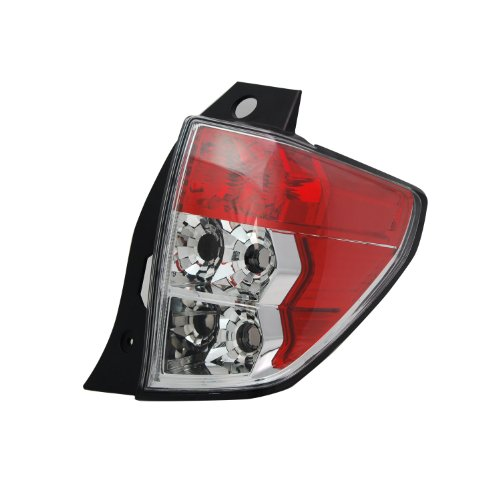 TYC 11-6337-01-9 Subaru Forester Right Replacement Tail Lamp (Forester Lamp Tail Subaru)