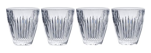 (Mikasa Parkside Double Old Fashioned Glass, 9.4-Ounce, Set of 4)