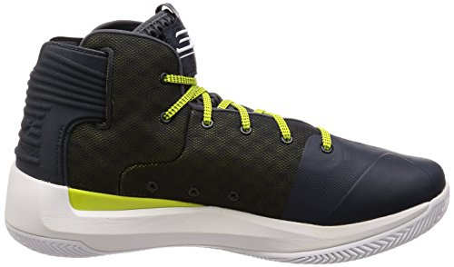 Under Armour Herren Curry 3 Basketballschuh Stealth Grey / Weiß / Stealth Grey