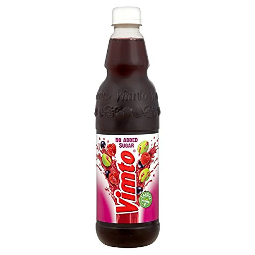 Vimto No Added Sugar Cordial 725ml (Pack of 12 x 725ml)
