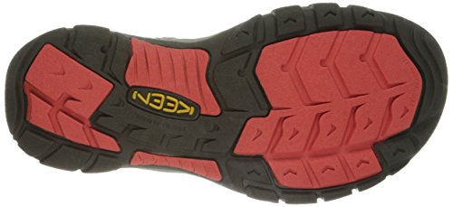 KEEN Damen Newport H2 Sandale Neuer Gargoyle / Heiße Koralle