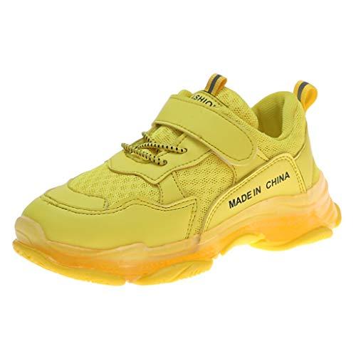 (Boys Girls Sneakers,Londony Kids Breathable LED Light Up Flashing Sneakers for Children Shoes(Toddler/Little Kid/Kids))