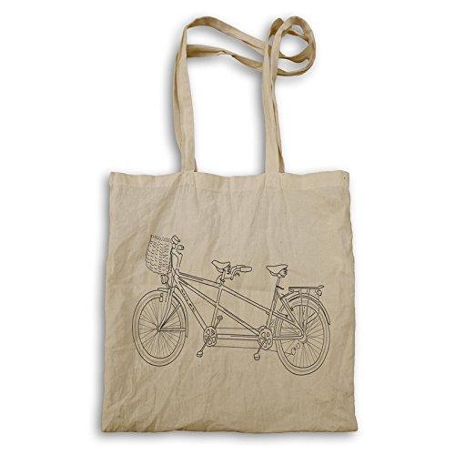 Vintage Fahrrad Sammlung Kunst Tragetasche e220r
