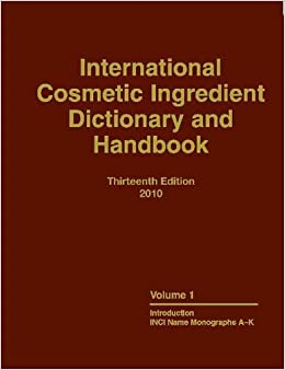 international cosmetic ingredient dictionary and handbook free download