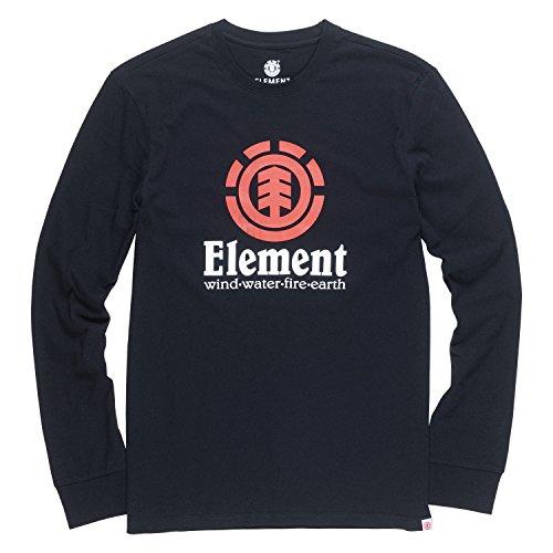 Element Men's Vertical Long Sleeve Tee (Element Mens Boardshorts)