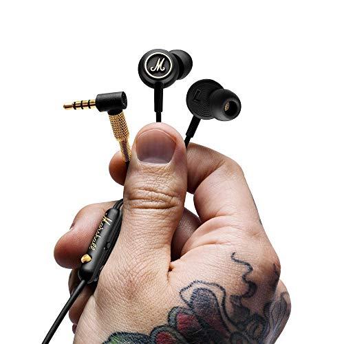 Marshall 4090940 Mode EQ in-Ear Headphones (Black/Brass)