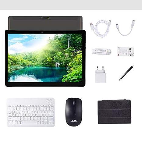 Tablet 4G Android 8.0 de 10 Pulgadas con procesador WiFi ...