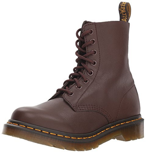 Women Brown Ankle Boot - Dr. Martens Women's 1460 Pascal Mid Calf Boot, Dark Brown, 7 M UK (9 US)