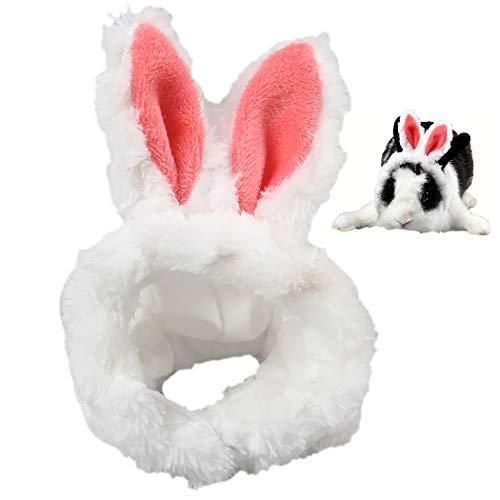 Legendog Pet Hat Creative Lovely Rabbit Ear Warm Pet Costume Hat Cat Costume Hat