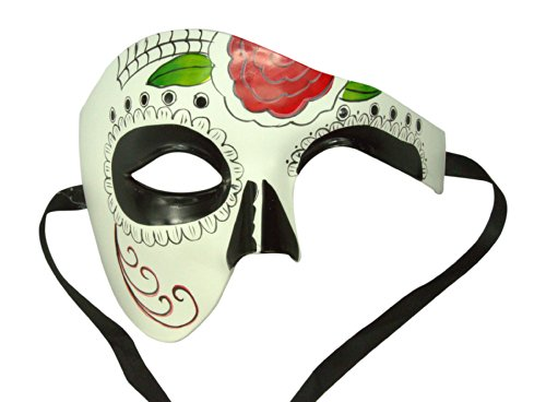 Day of the Dead Masquerade Venetian Masks (9 Styles) (DOD005)