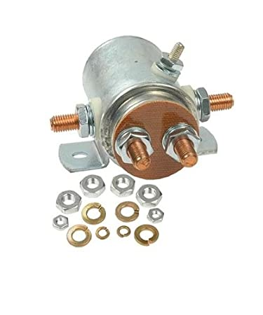 NEW 12 VOLT 5 TERMINAL SOLENOID FITS WINCHES THAT HAVE ROUND SOLENOID  Post Solenoid Wiring Diagram Ramsey on