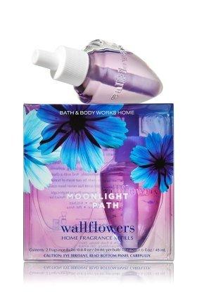 後談話変数【Bath&Body Works/バス&ボディワークス】 ルームフレグランス 詰替えリフィル(2個入り) ムーンライトパス Wallflowers Home Fragrance 2-Pack Refills Moonlight Path [並行輸入品]