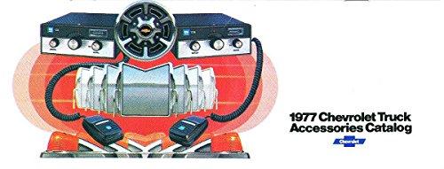 - 1977 CHEVROLET TRUCK & PICKUP ACCESSORIES AND FEATURES SALES BROCHURE - Also Medium Duty, Blazer, El Camino, Suburban, Carryall, Vans, Tilt Cab and Camper