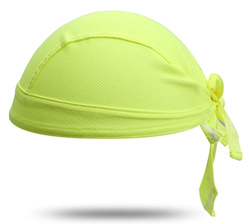 TESOON High-Performance Dew Rag, Yellow-Green, ()